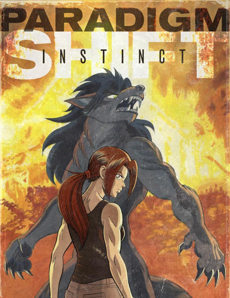 Instinct Issue 1 Cover Design