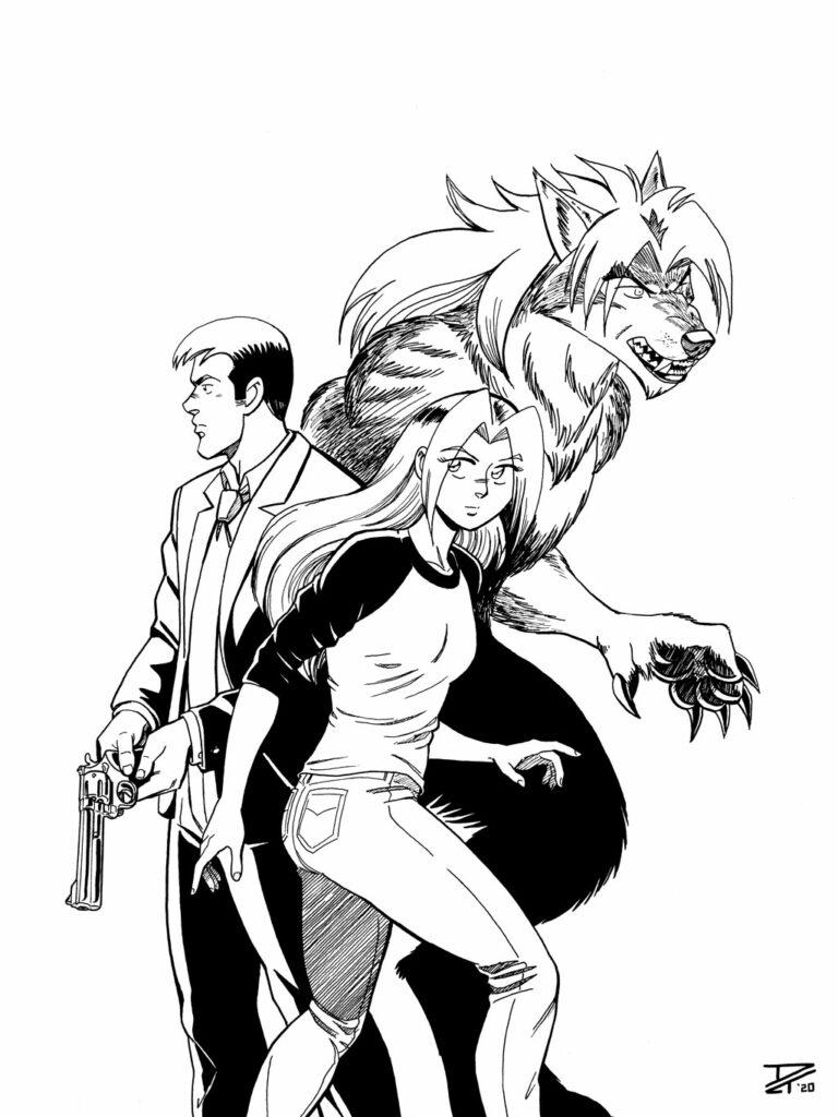 Kate, Mike, & Beast